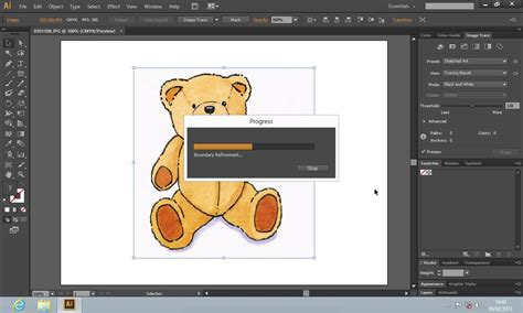 illustrator tutorial image trace how to use live trace in illustrator youtube
