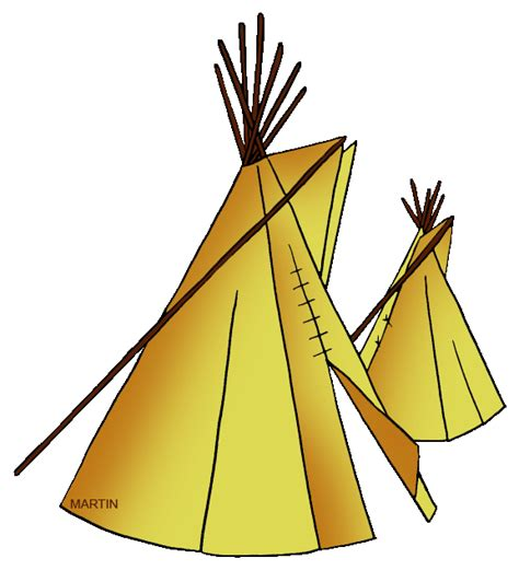 native american houses for kids teepee clip art cliparts co