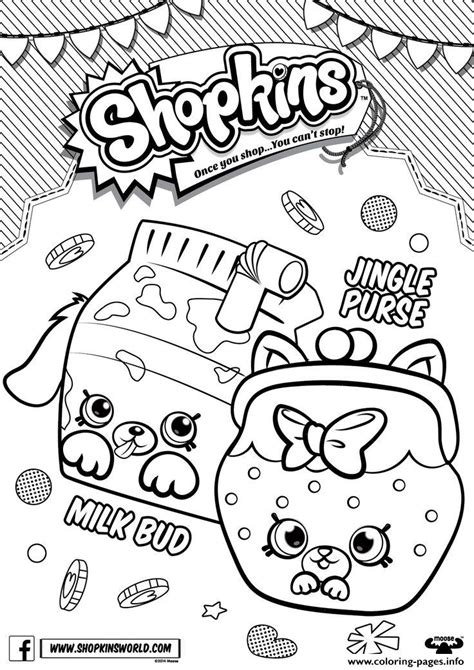 Free Coloring Pages Of Shopkins C Shopkins Season 4 Coloring Pages