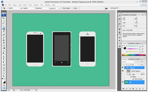 mobile photoshop how to make mobile phone screenshots realistic and beautiful