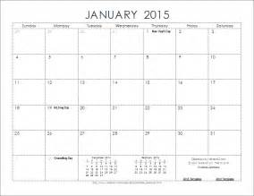 Calendar 2015 Template Monthly by Microsoft Templates Calendar 2015 Great Printable Calendars