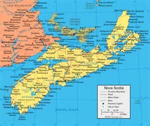 map of eastern canada and maine gu 237 a de transporte de scotia mapacarreteras org