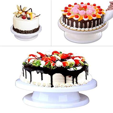 Cake Decorating Stand by Revolving Cake Decorating Stand Cake Turntable Rotating Stand Supplies Ebay