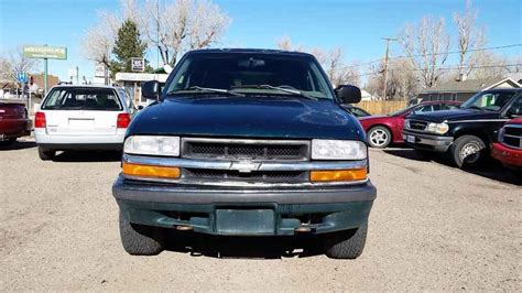 1998 chevrolet blazer ls 1998 chevrolet blazer ls 4x4 at alpine motors