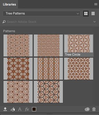 pattern library in photoshop creating patterns in adobe capture 171 julieanne kost s blog