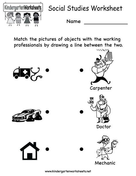 Free Printable Social Studies Worksheets For Kindergarten social studies worksheets social studies and worksheets