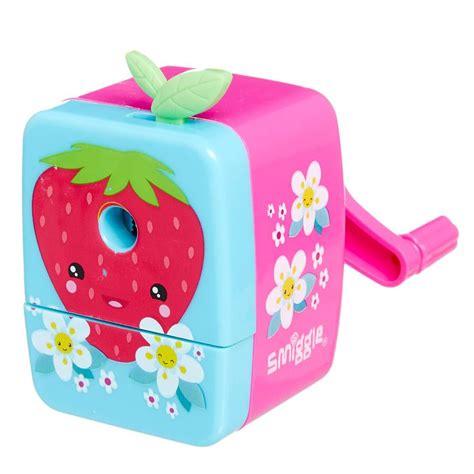 Smiggle Pencil Mechanic Pink image for garden wind up sharpener from smiggle uk smiggle gardens shops and
