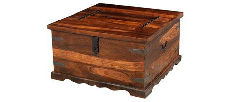 jali sheesham square coffee trunk box quercus living