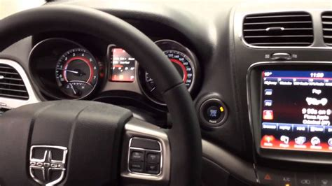 chrysler journey interior 2015 dodge journey crossroad review tilbury chrysler youtube