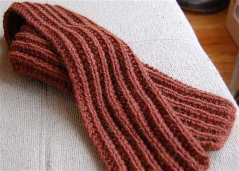 knitted ribbed scarf pattern lynne s fabulous knitting 11 08
