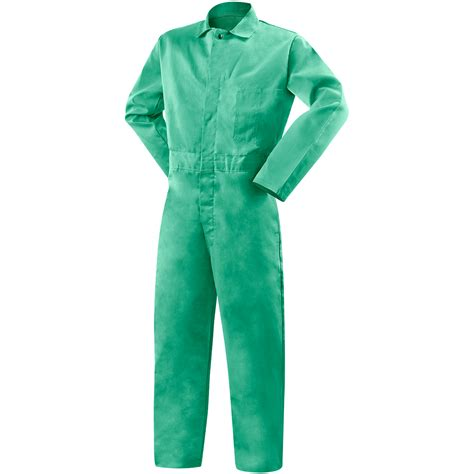 white is the new green for fire retardant paint 9 oz fr cotton coveralls green steiner industries