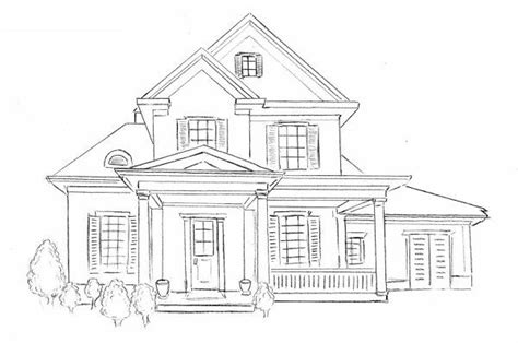 draw house illustrator how to draw a house drawing house step by step for beg