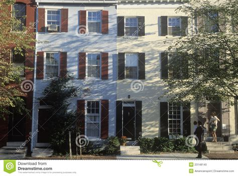 home gallery design inc philadelphia pa row houses in philadelphia pa editorial image image