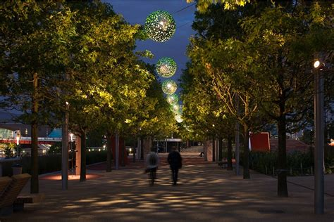 lights park speirs major unveil olympic park lighting september