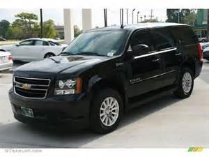 black 2008 chevrolet tahoe hybrid exterior photo 38746276