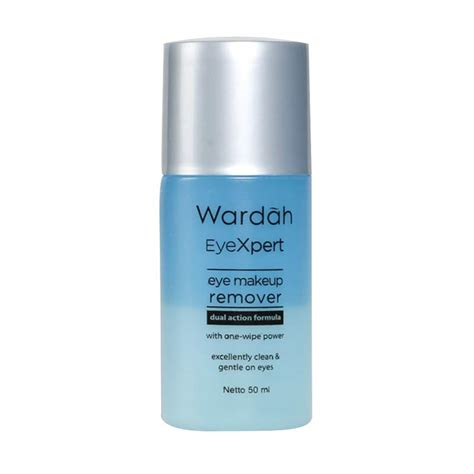 Daftar Maskara Dan Eyeliner Wardah jual wardah eyexpert eye make up remover isi 50 ml