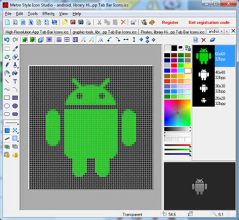 android studio icon free android icon studio by free icon editor v 5 0 software 562288
