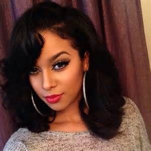 best black big wigs hairstyles best 25 medium length weave ideas that you will like on