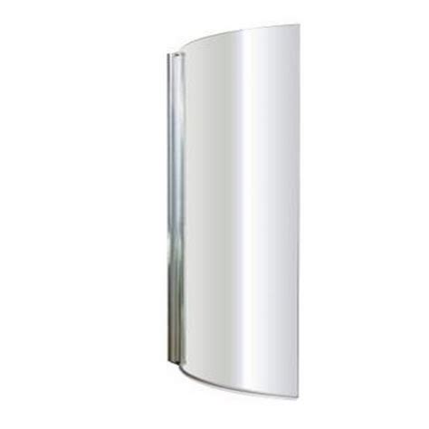 Curved Bath Shower Screen by Premier Curved 720mm Bath Shower Screen Additional Image