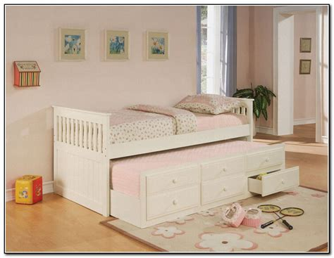 girls twin bed with storage kids girls twin trundle bed with storage modern storage