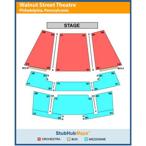 walnut st theatre seating walnut theatre events and concerts in philadelphia
