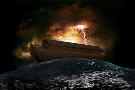 the genesis ark noah and the flood from a allegorical and prophetic