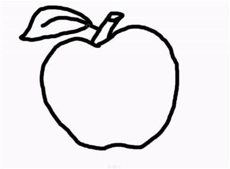 imagenes para colorear manzana dibujos de manzanas para colorear e imprimir paso a paso