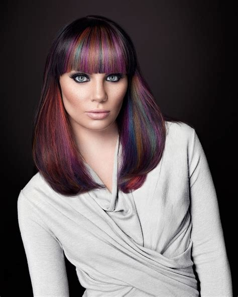colored hair trends hair color trends ideas for bold women