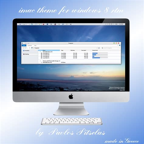 imac theme for windows 10 imac theme for windows 8 rtm 32bit by zeusosx on deviantart
