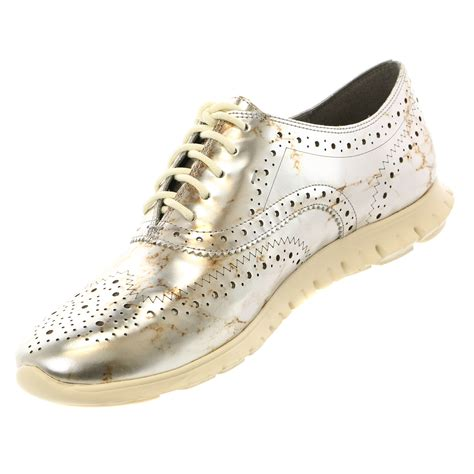 cole haan womens shoes cole haan zerogrand wing oxford casual fashion sneaker