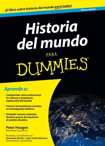 la historia del mundo 8490430411 historia del mundo para dummies epub y pdf everygeeks