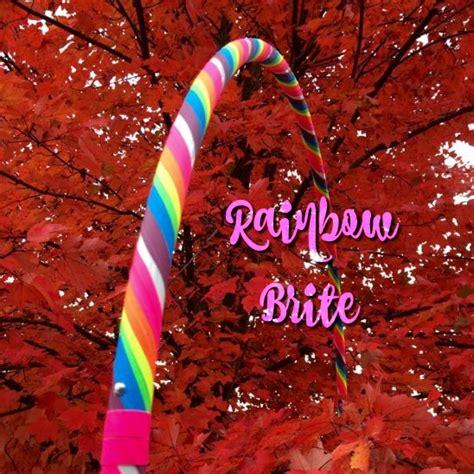 Rainbow Hoop rainbow hula hoop ruby hooping