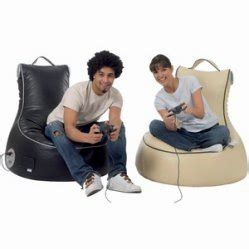 Relax On The Slouchpod slouch pod interactive bean bags gaming bean bags