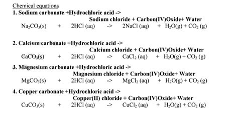 chemistry notes acid bases  indicators revision