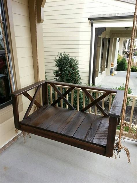 deck swings 1000 ideas about rustic porches on pinterest rustic