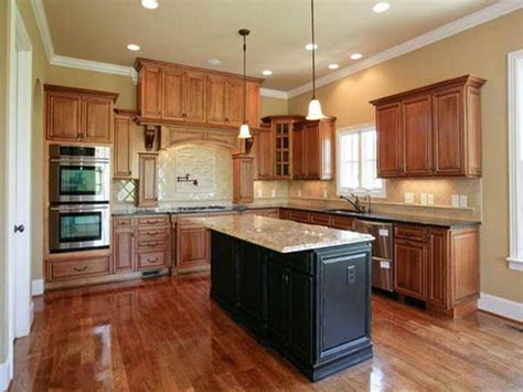 what color paint kitchen wall cabinet painting ideas colors hardwood flooring1