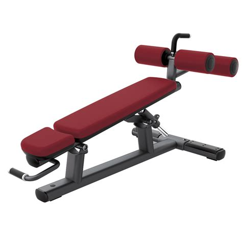 life fitness signature adjustable decline abdominal crunch