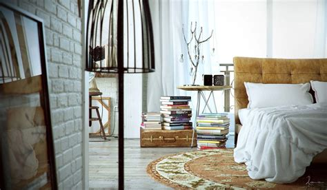 Industrial Bedroom Decor by Industrial Bedrooms With Detail