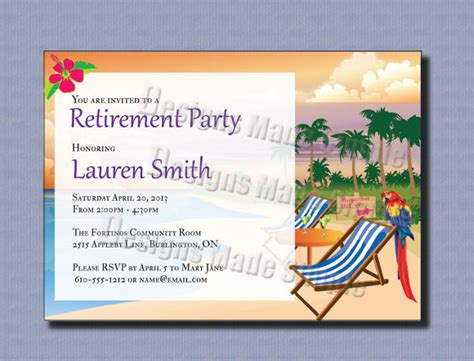 Retirement Powerpoint Template by 12 Retirement Invitations Sle Templates