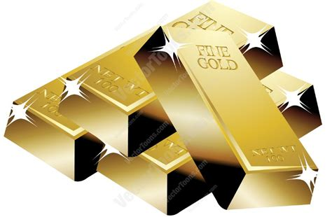 Home Design 3d Gold Review stack of gold bars stock cartoon graphics vector toons