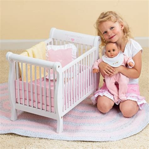 Wooden Baby Doll Cribs by Cutest Baby Doll Furniture