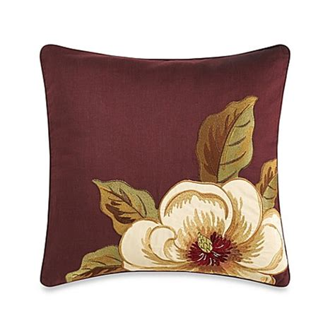 tommy bahama bed pillows tommy bahama 174 havana garden square toss pillow bed bath