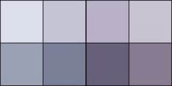 purple grey color paint color midnight musings