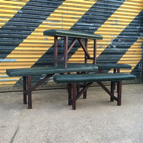 college bench padded school benches artistic industrial