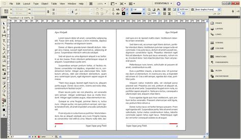 Tutorial Layout Buku Indesign | cara membuat layout buku sederhana dengan indesign