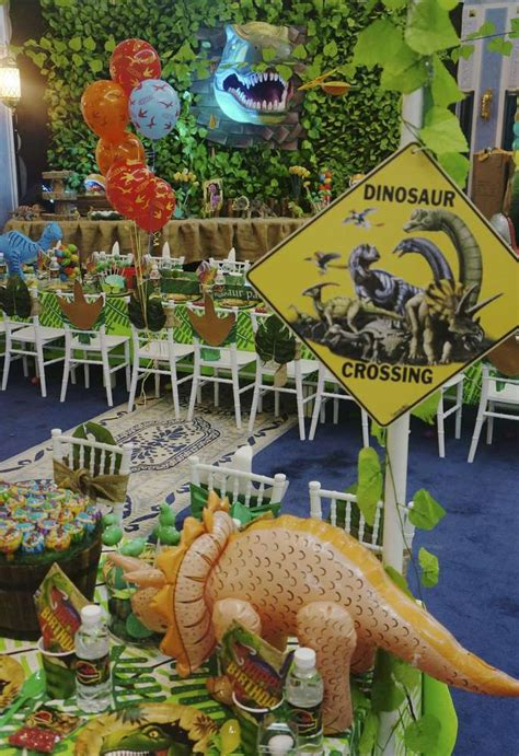 dinosaurs birthday party ideas photo 23 of 90 catch my