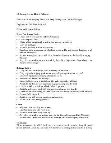 description for central reservations bellman seasonal owh