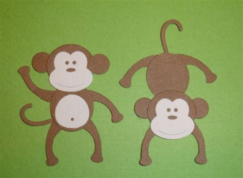 How To Make A Monkey Out Of Paper - and craft creative