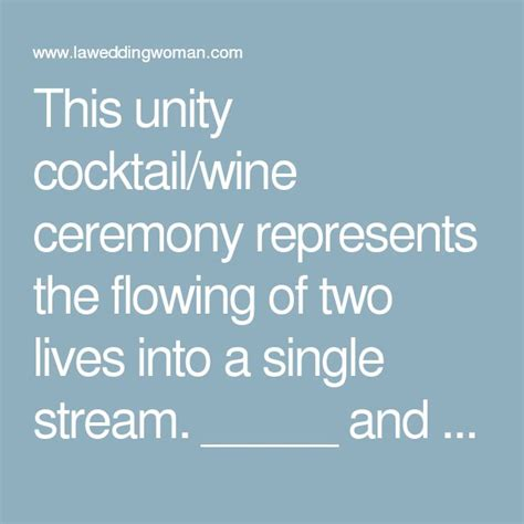Wedding Ceremony Unity Drink by 1000 Images About Wedding On Vineyard