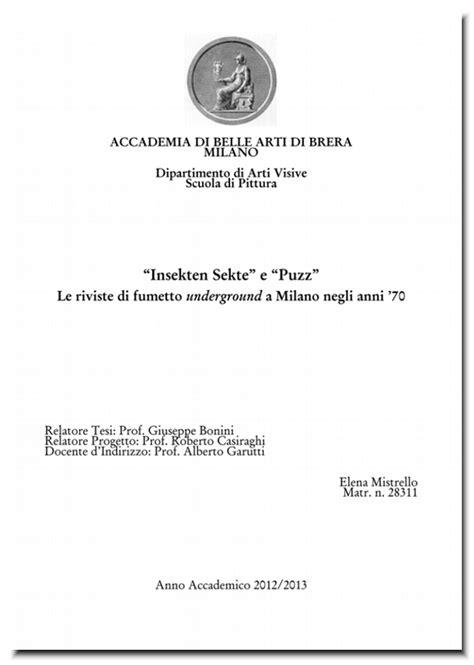 unibo lettere moderne fanzinoteca d italia articoli progetti in corso